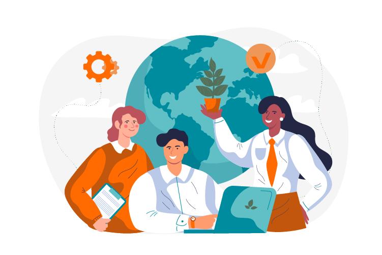 Responsabilité sociétale d'entreprise (RSE) : Détecnet engagée dans une démarche RSE depuis 2019